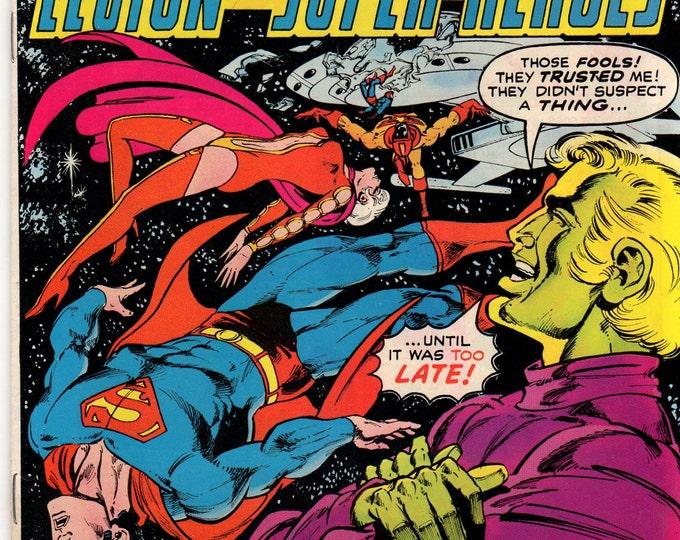 Superboy Comic Book #227 DC Comics 1977 VG-F