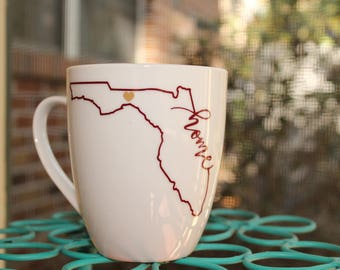 "Florida ""Home"" Coffee Mug"