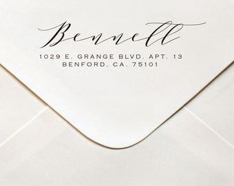 Address Stamp, Return Address Stamp, Custom Stamp, Self Inking Stamp, Personalized Stamp, Wedding Stamp, Self Inking, Address Stamps, #505