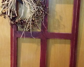 Country primitive window frame