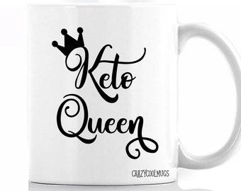 Keto Queen Coffee Mug