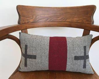 Wool Lumbar Pillow
