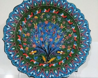 used as a home accessory. it is a special operation. ottoman art. kütahya çinisi.
