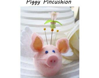 Pretty Piggy Finger Pincushion Kit