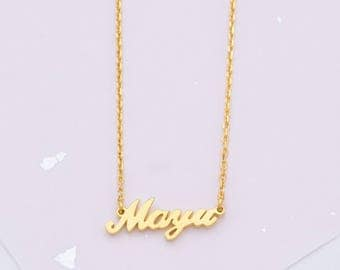 Custom Name Necklace - Necklace with Name - Name Jewelry - Personalized Name Necklace - Gold Name Necklace