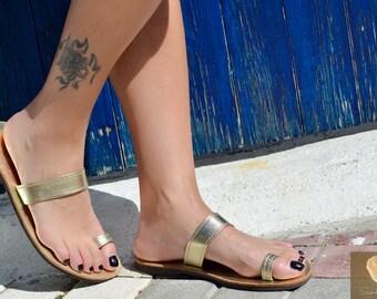 Greek leather sandals,Greek handmade leather sandals,Strappy summer sandals,Women sandals, CLEMENCIA
