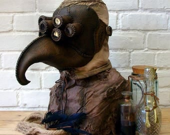 "Plague Doctor mask ""Seraphim"""