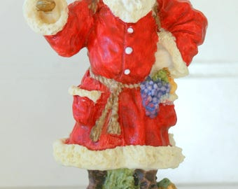 Father Christmas England 1992 Porcelain Santa Figurine International Resourcing Services, Inc.