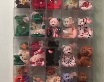 CLEARANCE Collection of Beanie Bears! VINTAGE and RARE Beanies