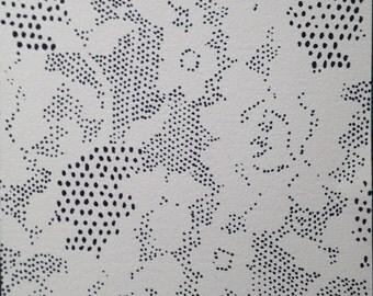 "Lace Drawing ""Rosetta"""