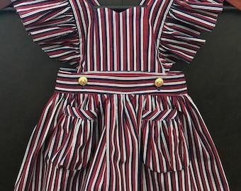 Little Girl/Toddler Vintage Freedom Dress and Romper