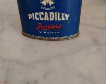 Vintage cigarette tin.