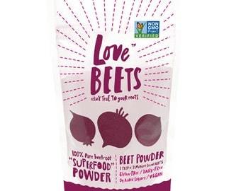 Love Beets Beet Powder 8oz, Superfood, Beet Juice