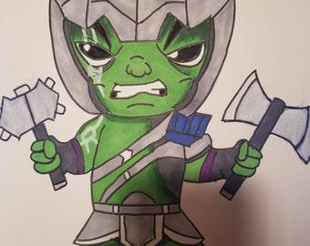 Chibi Hulk Ragnarok