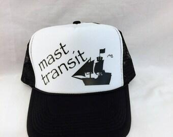 Mast Transit Trucker Hat (GASPARILLA, PIRATE)