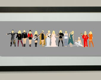Taylor Swift Printable Poster | Look What You Made Me Do Print | Taylor Swift Gift | Reputation Poster | Reputation Taylor Swift Print