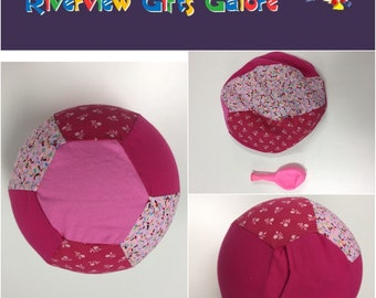 Balloon Ball Cover - Pink Flowers
