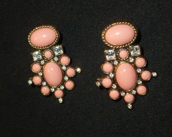 Ear Elizabeth Taylor signed earrings
