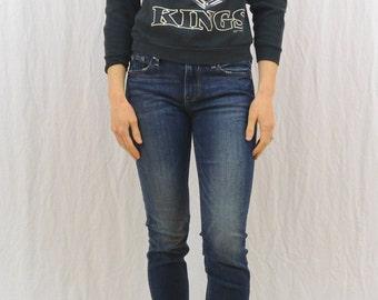 Vintage Los Angeles Kings Sweatshirt, XXS-XS, Youth Large, Ice Hockey, 90's Clothing, California