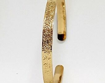Cuff Bracelet, Boho Chic Bracelet, Handmade Modern Stacking Bracelet
