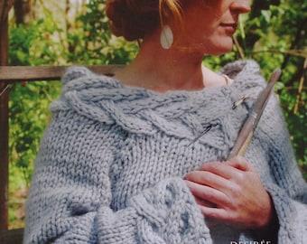 Knitting Pattern | French Girl Knits | DESIREE | Handknitting | Knit Sweater | Kristeen Griffin-Grimes | Rowan Big Wool