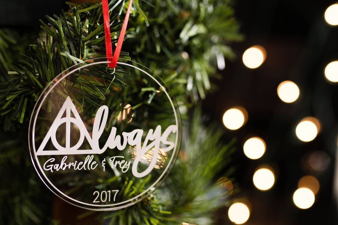 Personalized Christmas Ornament Harry Potter Christmas