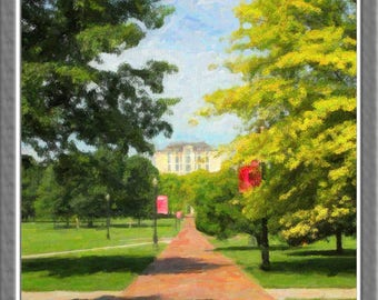 The Oval, Ohio State University