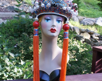 Breathtaking Vintage Chinese Peking Opera Headdress
