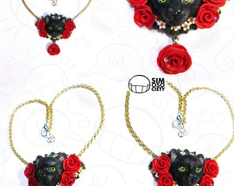 Cat Necklace - Customize your necklace!