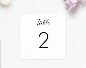 Table numbers wedding printable Table number cards, Table numbers digital download wedding table numbers for wedding table number 1-30