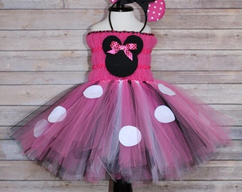 Minnie Mouse Dress, Minnie Mouse Tutu, Minnie Mouse Costume, Minnie Mouse Birthday, Baby Girl Costume, Baby Girl Halloween