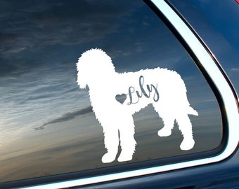 Personalized Doodle Vinyl Car Decal