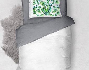 Southwestern Home Decor, Cactus Bedding, Cactus Bedroom, Desert Home Decor, Western Bedding, Southwest Bedding, Desert Bedding, Desert Gift