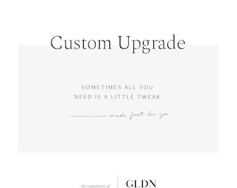 Order Upgrade for Customized GLDN Orders / GLDNjewelry / GLDN jewelry / GLDNjewellery