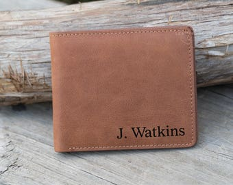 Mens Leather Wallet, Mens Personalized Wallet, Mens Wallets, Personalized Leather Wallet, Leather RFID Wallet, Custom Mens Wallet
