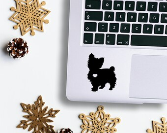 Yorkie / Yorkie Decal / Yorkie Gift / Yorkie Sticker / Dog Car Decal / Custom Dog Decal / Yorkie Lover Gift / Pet Lover Decal / Pet Decals