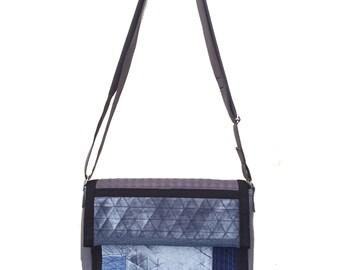 """No. 2 - """"Grey"""" Messenger bag"""