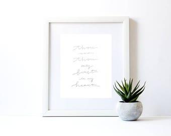 Be Thou My Vision Hymn Print