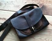 Small leather messenger bag, Shoulder satchel, Crossbody purses, iPad carry bag, Crossbody messenger, Leather tablet bag, Mini satchel