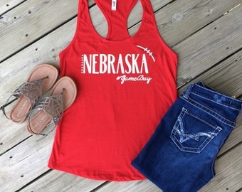 Game Day Racerback Tank Top/ Womens Fit