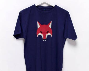 Fox Animal Reineke Reynard Vulpes T-Shirt {men} g4HqV