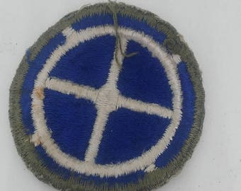 Easter Sale Vintage WW2 US Army 35th Infantry Division Patch