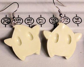 Luma Earrings - Star Earrings - Green Earrings - Gamer Earrings - Mario Earrings