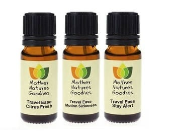 Travel Ease MULTI PAK Essential Oil Blend  Pure Natural by Mother Nature's Goodies