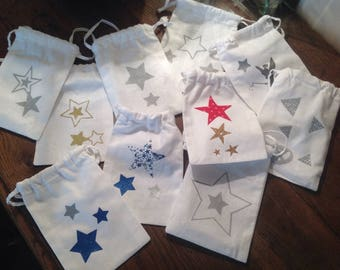 Exemple.petits bags pouches secret things, goodies, gifts...