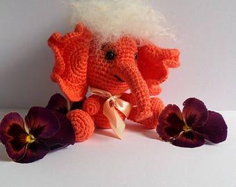 Amigurumi toy,Crocheted toy,Amigurumi Elephant, gift idea,for children,handmade