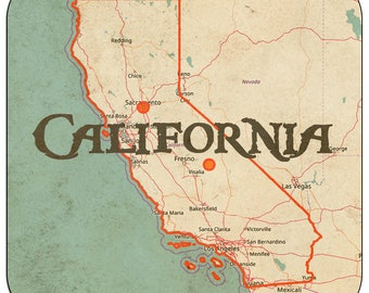 California Coasters & Other Merchandise