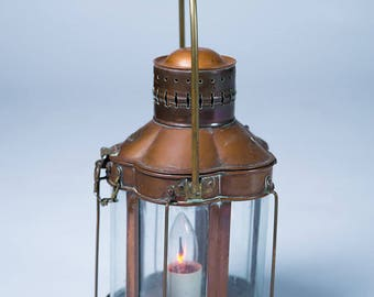 rare vintage electric ship light