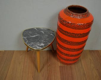 Vintage flower stool, side table, plant stand, coffee table | Germany | 60s