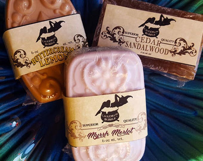 Myrrh Merlot - Vegan Glycerin Cocoa Butter Soap - Love Potion Magickal Perfumerie